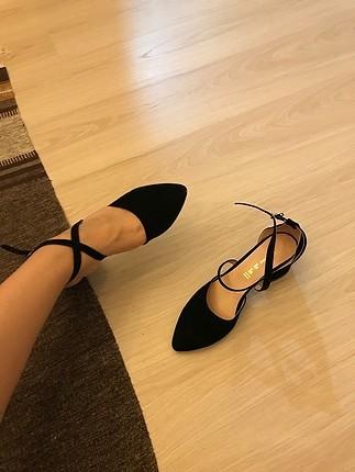 Zara klasik topuklu