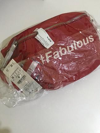 universal Beden Kırmızı bel çantası
