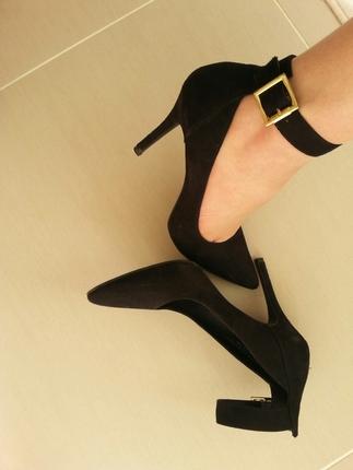 3cbd2e6871806 Deichmann Bantlı Topuklu Ayakkabı Deichmann Klasik Ayakkabı %24 ...