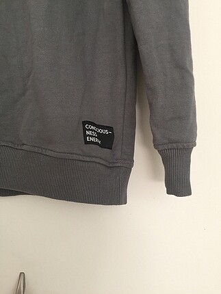 H&M Gri sweatshirt