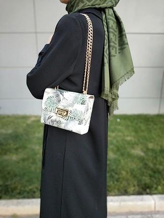 Koton koton zincir askılı çanta