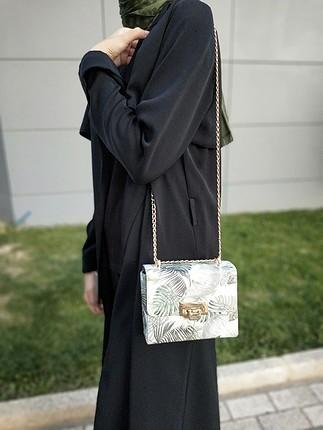 28 Beden koton zincir askılı çanta