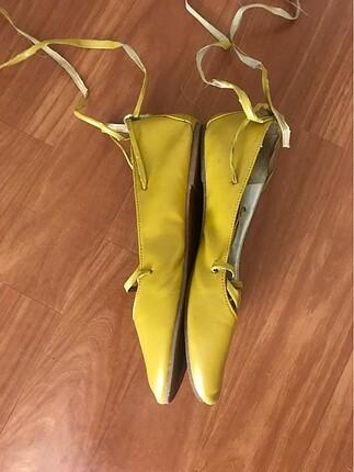 Koton sarı ayakkabı