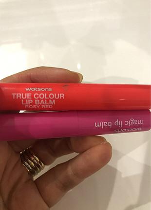 Watsons magic lip balm dudak bakim