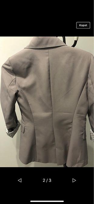 Only gri astarli ceket