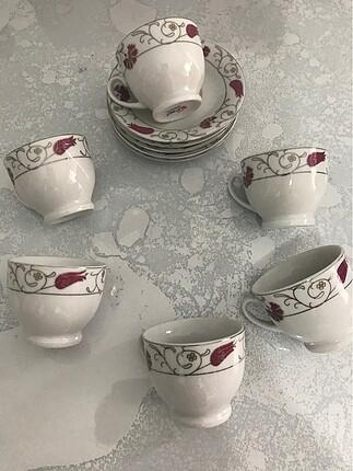 6 lı kahve fincanı