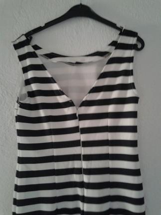 m Beden çeşitli Renk Zebra Desen elbise