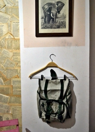 vintage sırt çantası