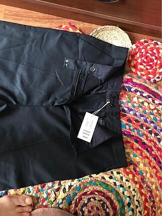 38 bdn siyah klasik pantolon yeni etiketli