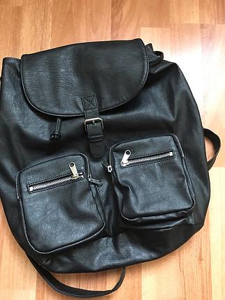 h&m siyah çanta