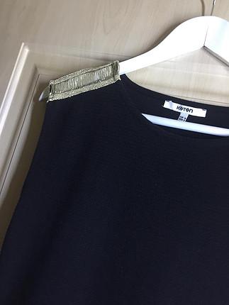 m Beden siyah Renk Koton elbise