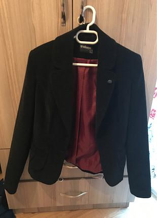 Kadife siyah ceket