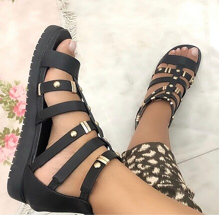 sandalet gladyatör