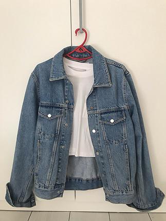 Vintage kot ceket (boyfriend)