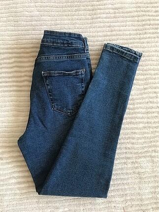 34 Beden lacivert Renk Skinny jean