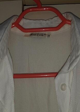 Zara Beyaz gömlek