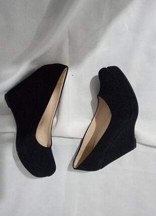 süet dolgu ayakkabi 10cm