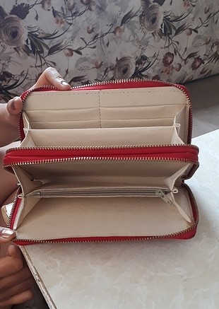 kırmızı cüzdan