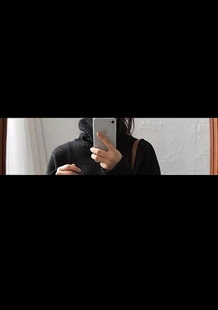 siyah boğazlı kazak