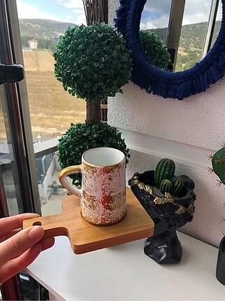 Kahve fincanı ve tabağı