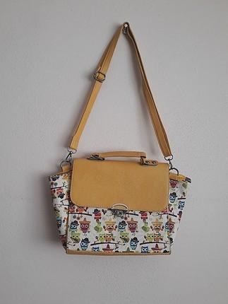 sarı renk çanta