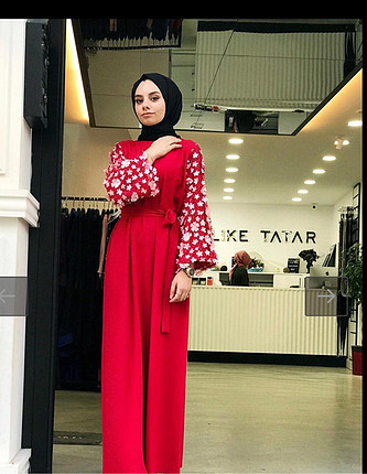 Melike tatar model elbise