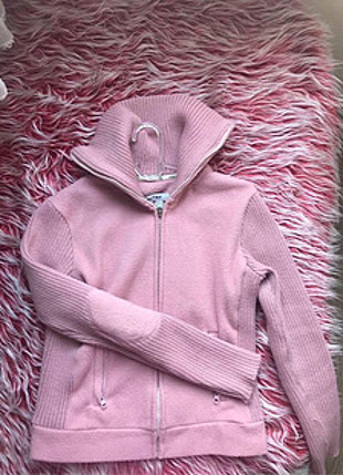 m Beden pembe Renk Zara polar ceket