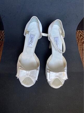 Divan marka gelin ayakkabısı