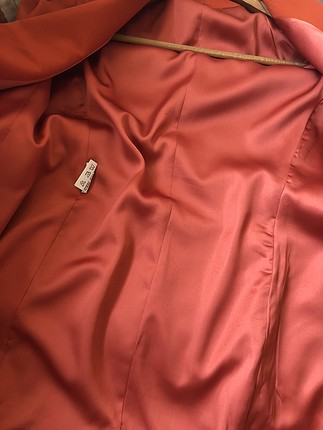 Roman Nar çiçeği vatkalı ceket