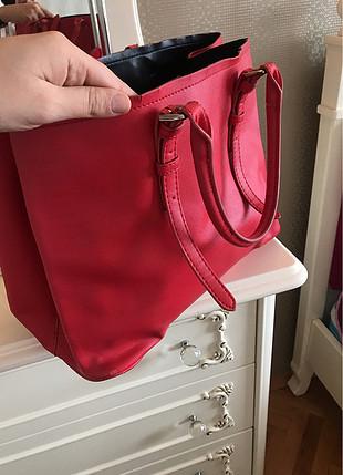 Kırmızı Zara çanta