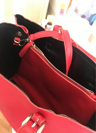 universal Beden kırmızı Renk Kırmızı Zara çanta