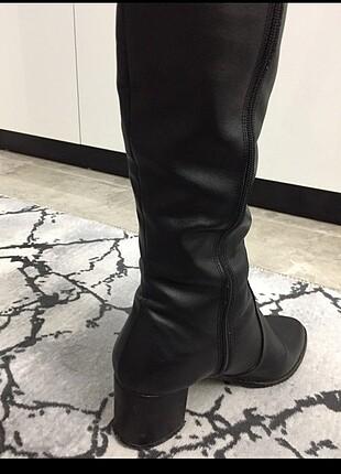 Pelinin Ayakkabıları Pelinin ayakkabıları çizme muadil siyah uuzn fermuarlı butik ürü