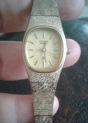 universal Beden altın Renk orjinal vintage saat