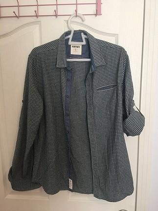 Yün kışlık gömlek