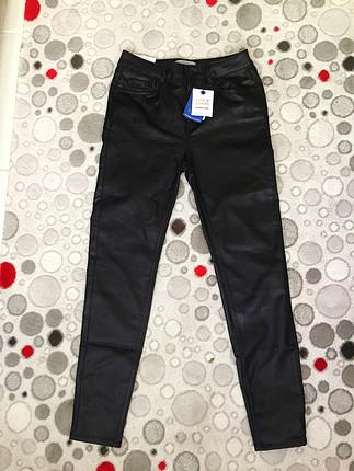 Kaplamalı kot pantolon