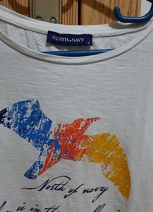 North of Navy tişört