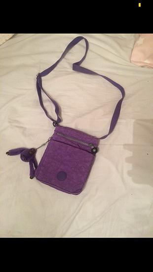 Kipling mor çanta