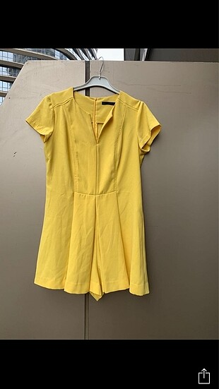 Zara sarı tulum