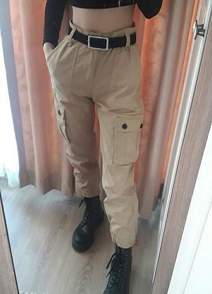 bershka kargo pantolon