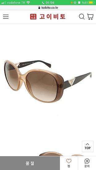 Prada orijinal güneş gözlüğü