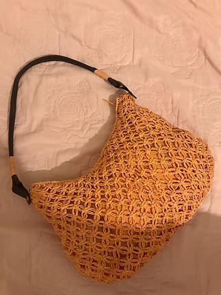 Vintage hasır çanta