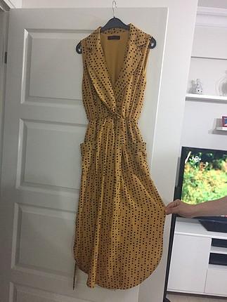 Şifon gömlek elbise