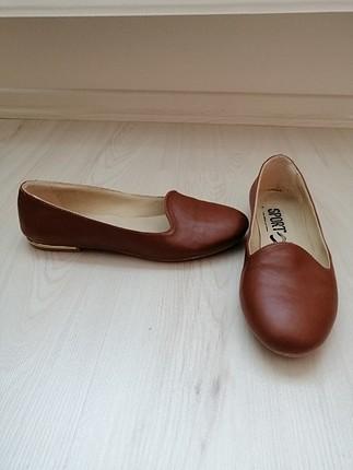 H&M kahverengi babet