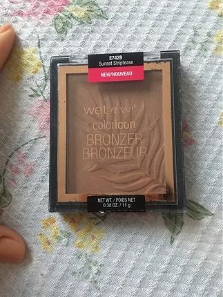 Hiç kullanılmadı bronzer pudra