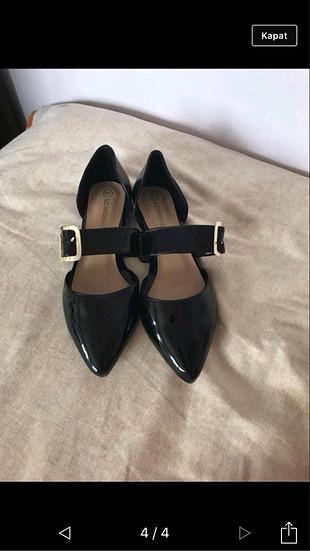 38 Beden siyah Renk Ayakkabı babet