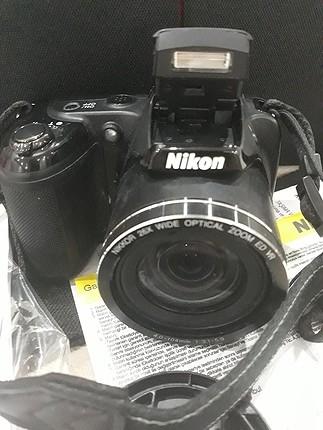 Apple Watch nikon coolpix L330 fotograf makinesi