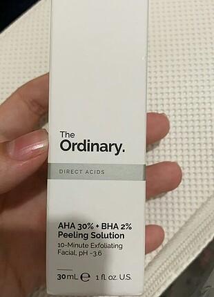 The ordinary AHA BHA peeling solution