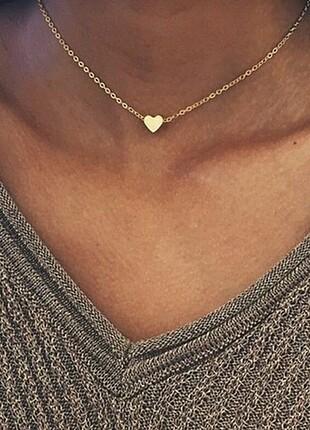 Mini kalp kolye