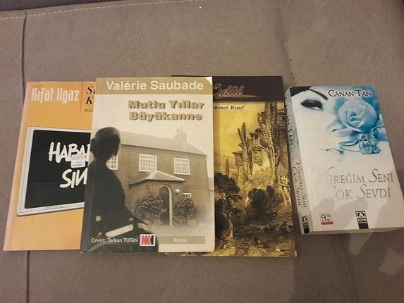 4 adet kitap