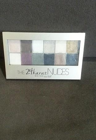 maybelline 24 k nudes palet